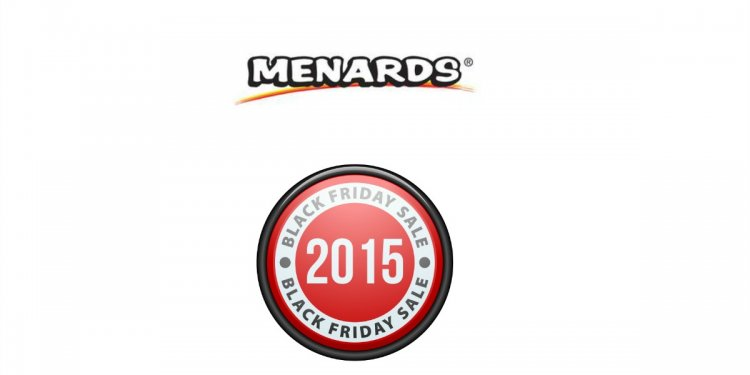 2015 Menards Black Friday Ad