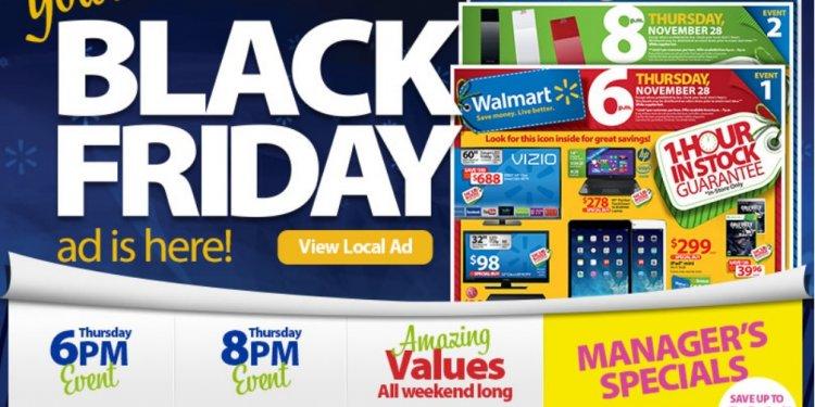 Black Friday Walmart