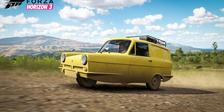 Reliant Supervan , Ford