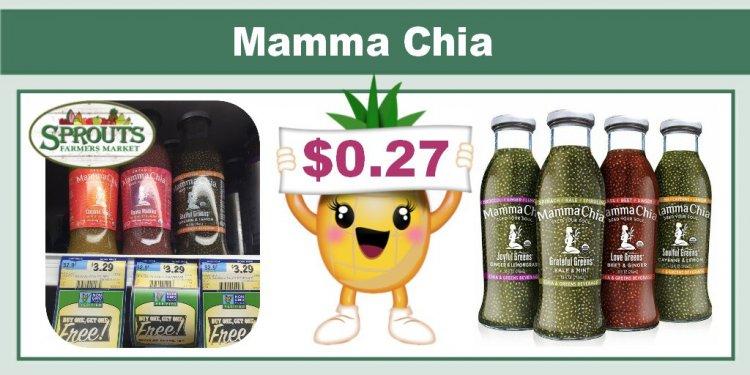 Sprouts has Mamma Chia Organic
