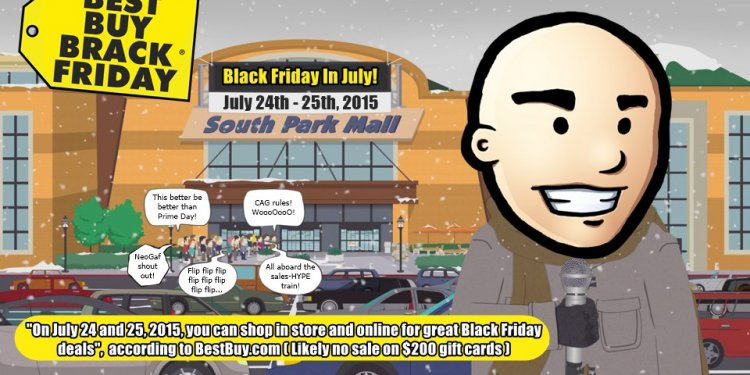 Best Buy July Black Friday