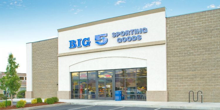 Big 5 Sporting Goods Black