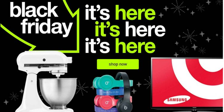 Target: Black Friday Deals
