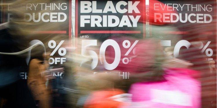 Black Friday: online spending