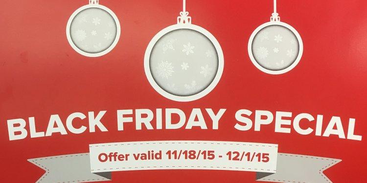 Black Friday Special Safeway