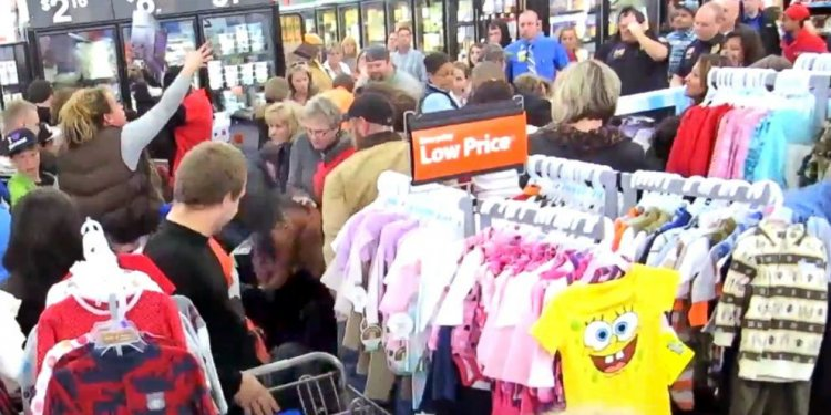 Black Friday Turns Dark as