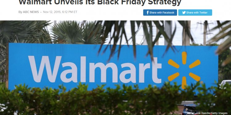 Walmart and Black Friday