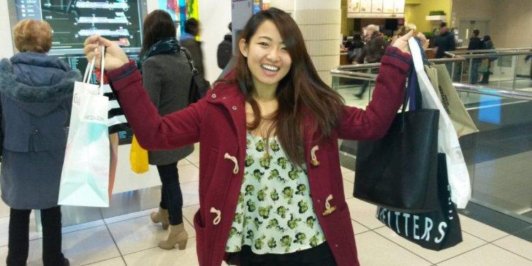 Commerce student Maggie Zhang