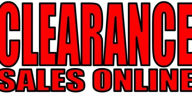 CLEARANCE SALES ONLINE