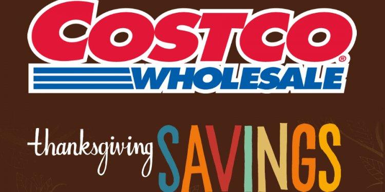 Costco Pre-Thanksgiving Sale