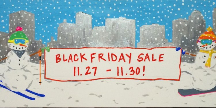 Black Friday Ski Sale Boston