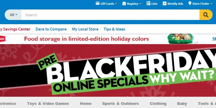 Deals and Steals: Walmart Pre
