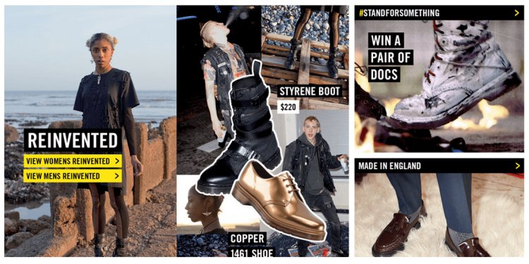 Dr Martens Products Image