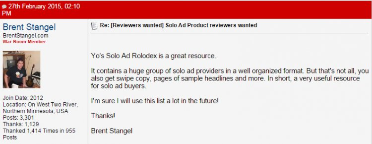 [GET] [Yo's Exclusive Solo Ad Rolodex + Warrior Exclusive Solo Ad Deals]