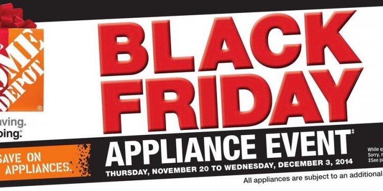 Home depot black friday sales