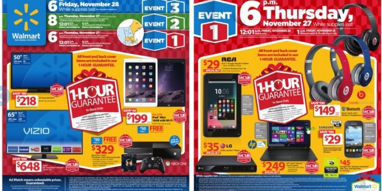 Walmart Black Friday ad Scan