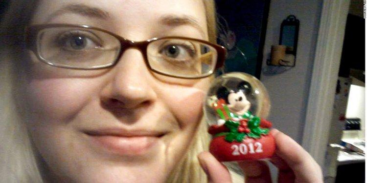 Leah new jc penny snow globe