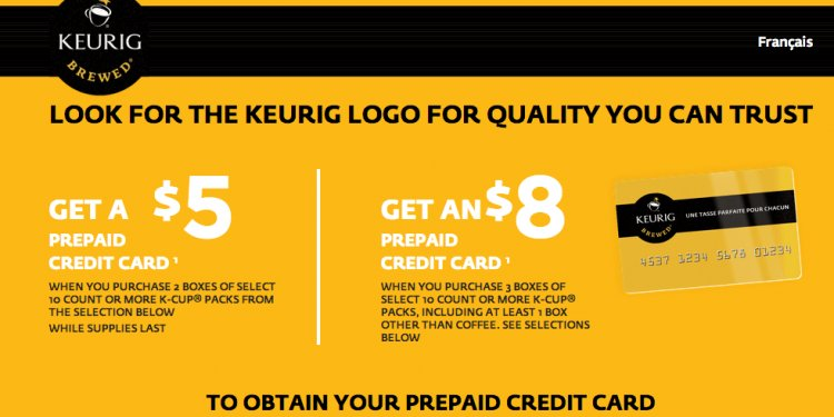 Keurig Canada has great online