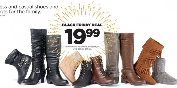 Boots kohl s black friday