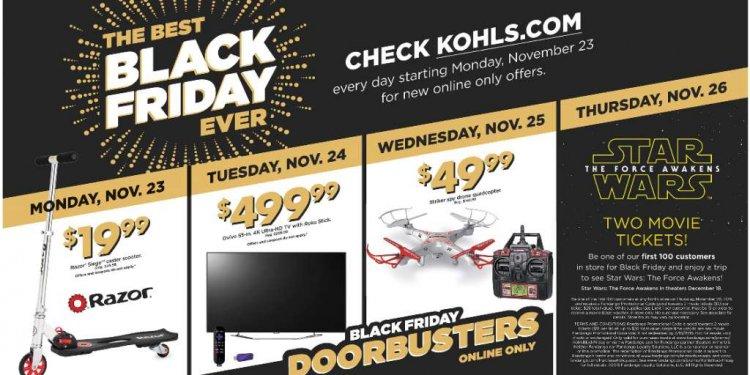 Kohl s Black Friday Ad