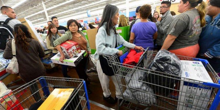 Walmart Over Black Friday