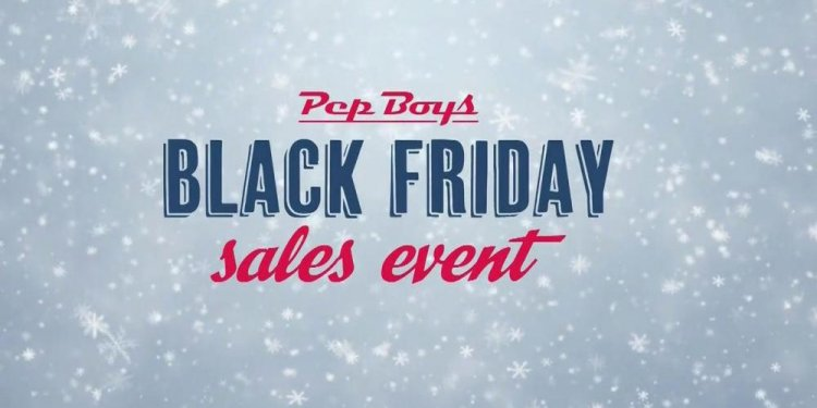 PepBoys Black Friday Sales