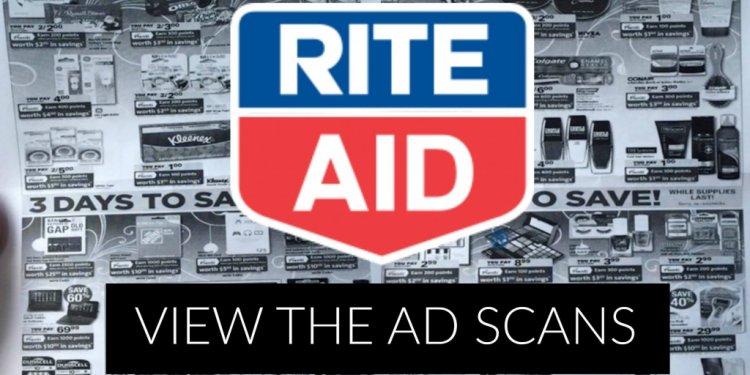 Rite aid ad scans