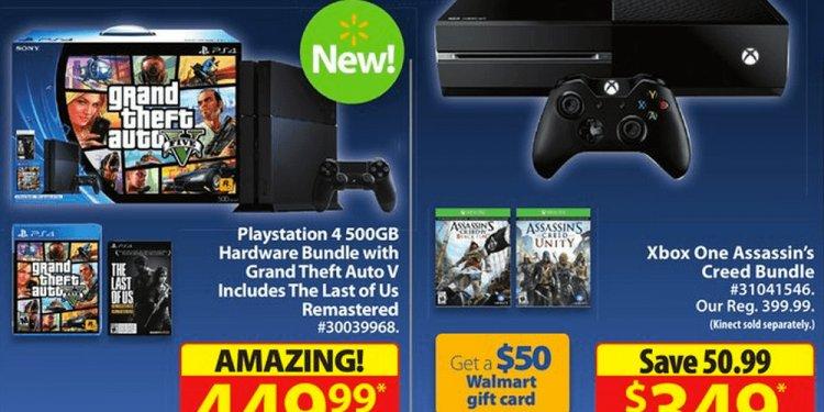 Walmart-canda-xbox-one