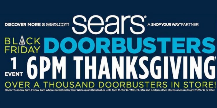 Sears Black Friday Ad: deals