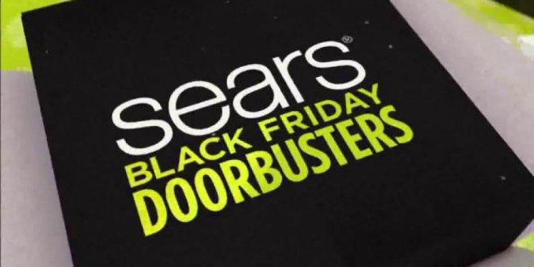 Sears Black Friday Event TV