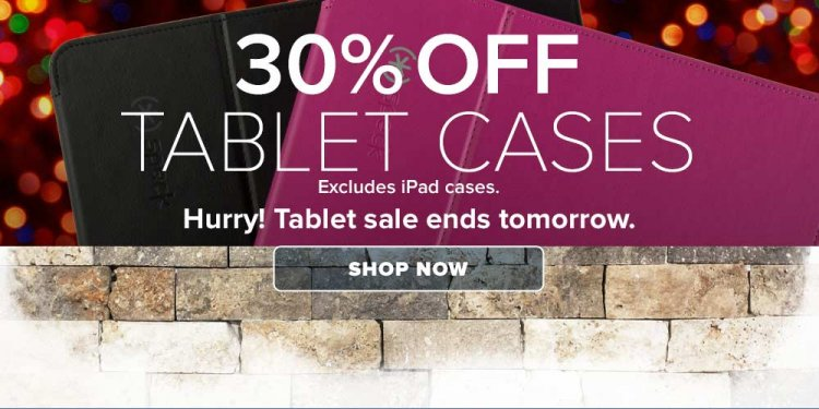 30% Off Speck Tablet Cases