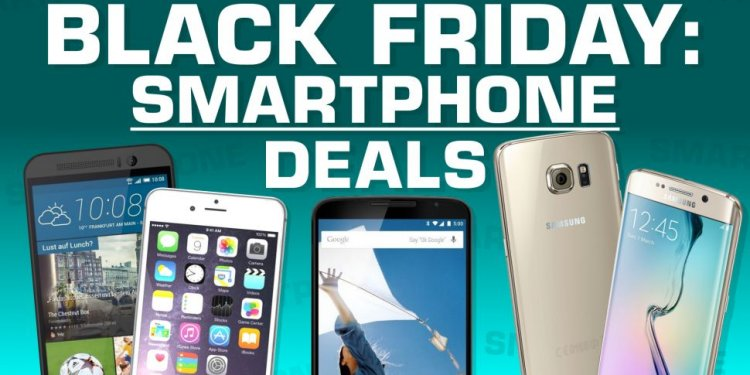 Black Friday iPhone smartphone