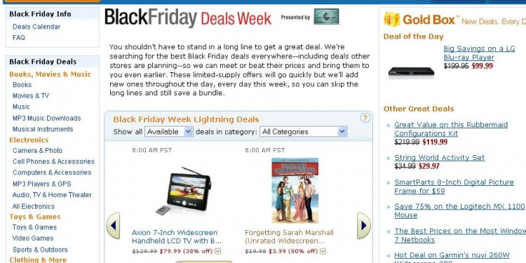 Amazon Black Friday Week ownz