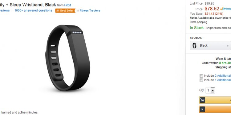 Amazon fitbit flex blackfriday