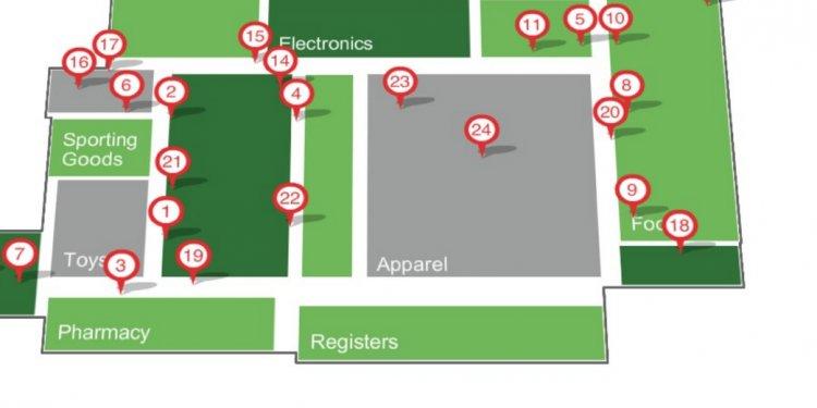 Wal Mart Black Friday Map