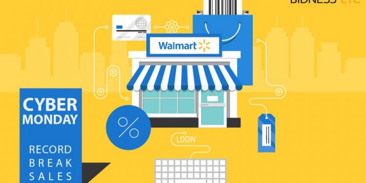 Wal-Mart Reports Record Cyber