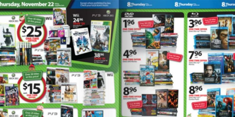 Walmart Black Friday 360 Games