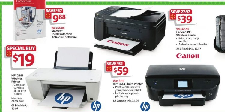 6. HP Printer for $19