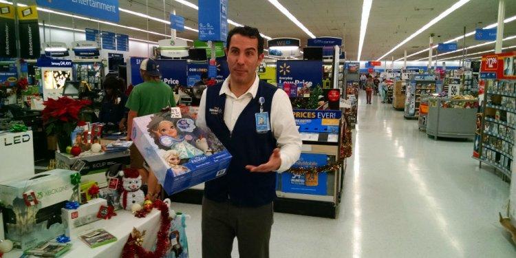 Walmart spokesman John Forrest