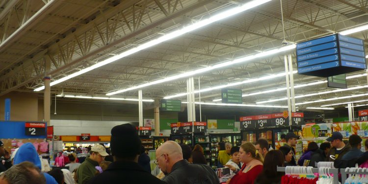 Walmart on Black Friday 2010