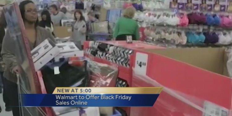 Walmart releases Black Friday