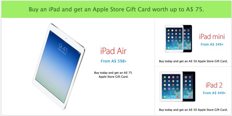 Apple Store Black Friday deals