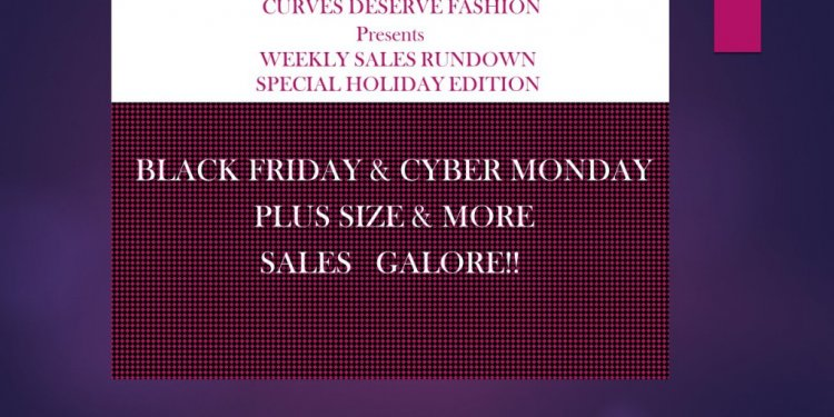 Black Friday clothes sales online