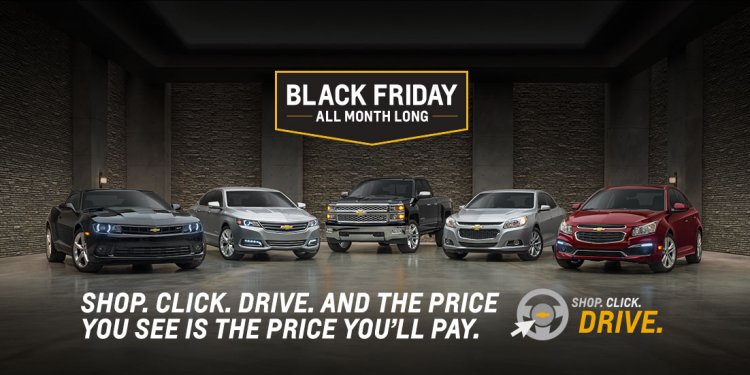 Black Friday Chevrolet deals