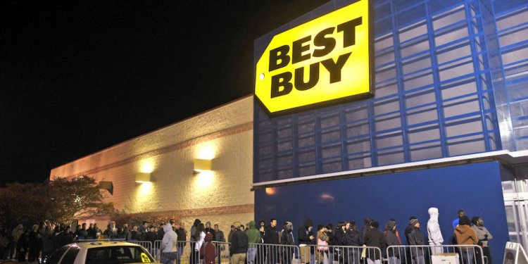 Best Buy on TV for Black Friday