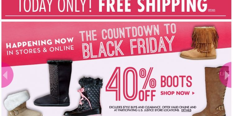 JUSTICE FOR GIRLS Black Friday