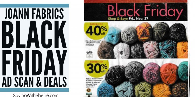 Joann Fabrics Black Friday Ads