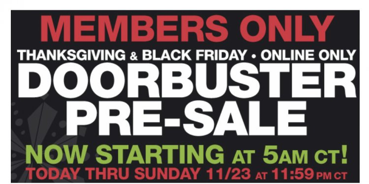 Kmart Pre Black Friday sales