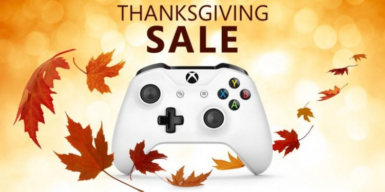 Xbox 360 Thanksgiving Sale
