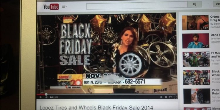 Tires Black Friday Sale
